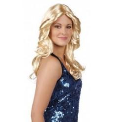 Peruka Disco Abba Blond