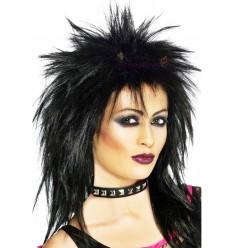 Peruka Czarny Punk