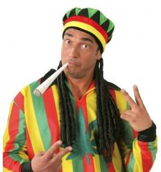 Jamajska Czapka z Dredami