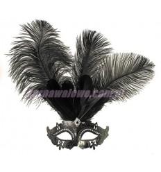 Maska Lux z Piórami