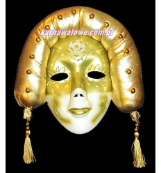 Maska Teatralna Złota