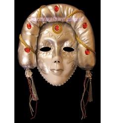 Maska Teatralna Srebrna
