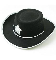 Kapelusz Kowboj Czarny Mały