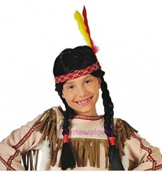 "Peruka ""Indianki"""