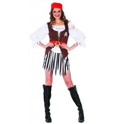 Strój Piratka z Kamizelką