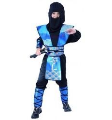 Strój Ninja Niebieski